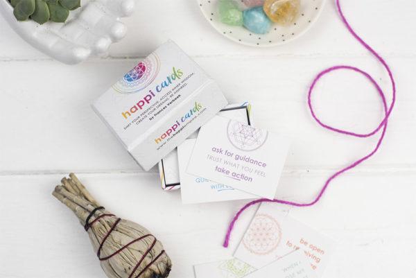 Inspiring oracle cards